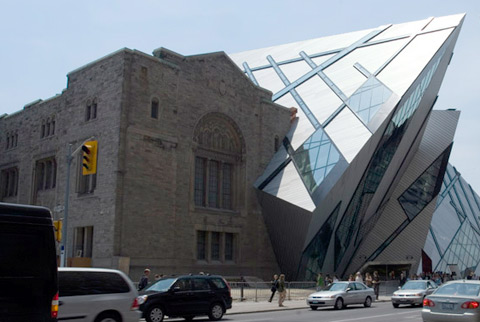 Royal Ontario Museum by Daniel Libeskind