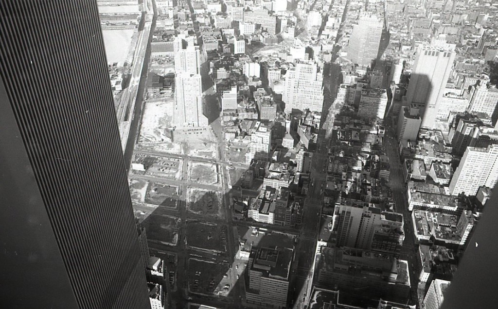 Photo from top of WTC